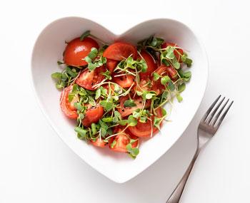 fresh healthy salad